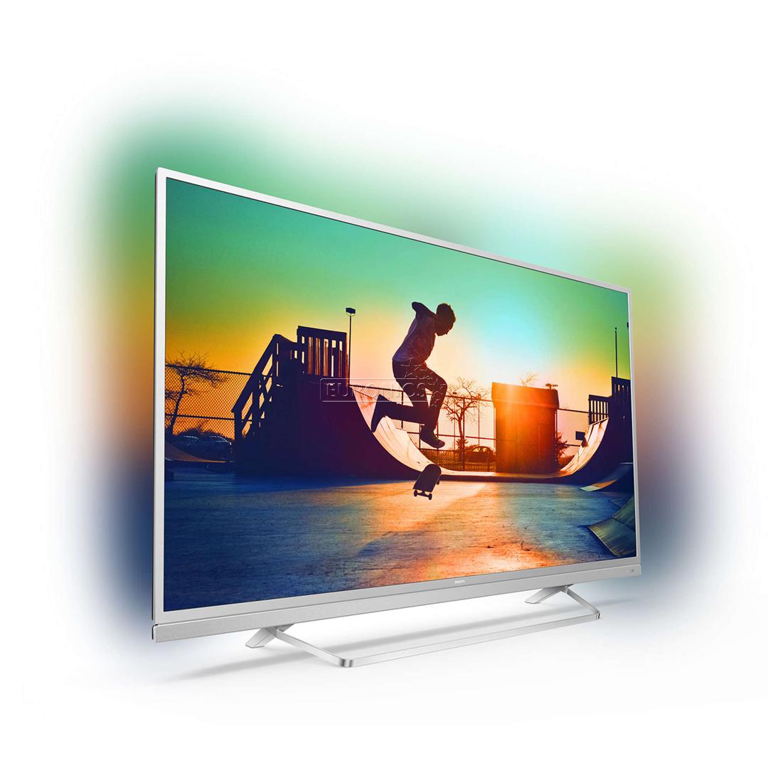 Ултра тънък 4К ANDROID SMART LED телевизор PHILIPS 49PUS6482 49 инча/ 123 см ULTRA HD