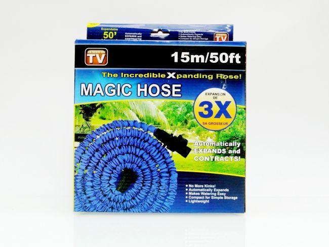 XXL размер 22.5м разтегателен маркуч X-HOSE с накрайник-пръскачка на топ цена