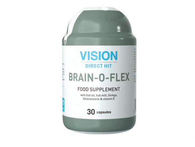 Биологично активна хранителна добавка VISION BRAIN-O-FLEX - най-бързата храна за мозъка