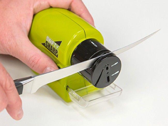 Електрическо точило на ток за прави и назъбени ножове, ножици, отверки и други остриета