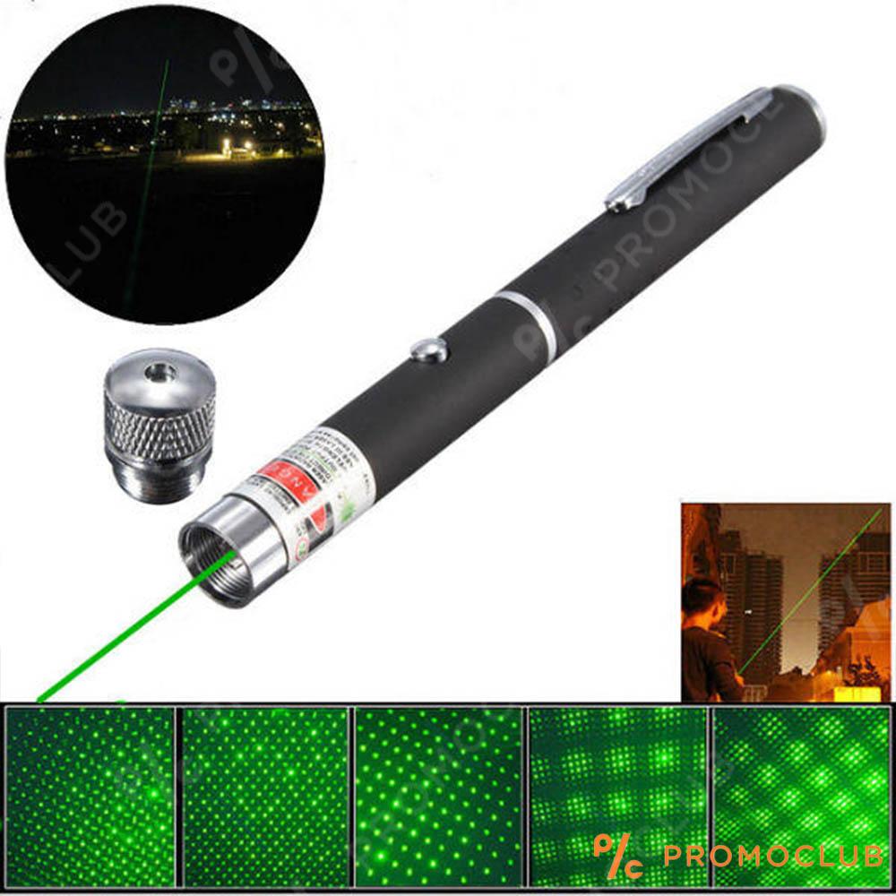Супер мощен зелен лазер - пойнтер 500mW с проекция до 10000 метра XJD303