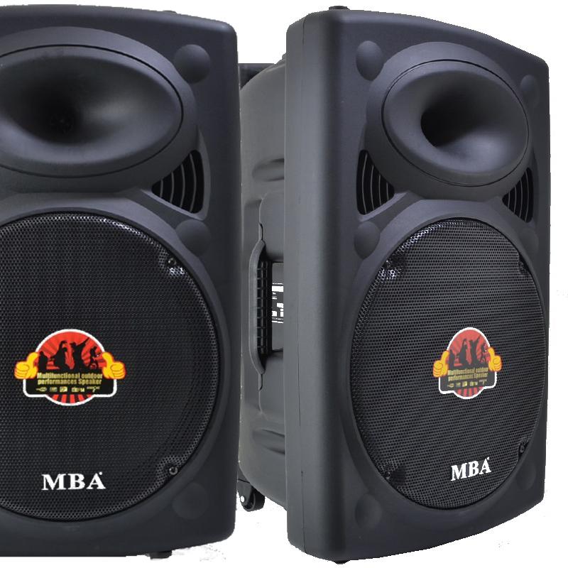 Мощна активна караоке парти тонколона MBA F15W 15 инча, 500W