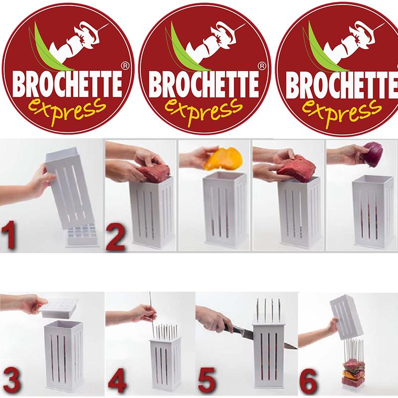 Направи перфектните шишчета професионално с Brochette express