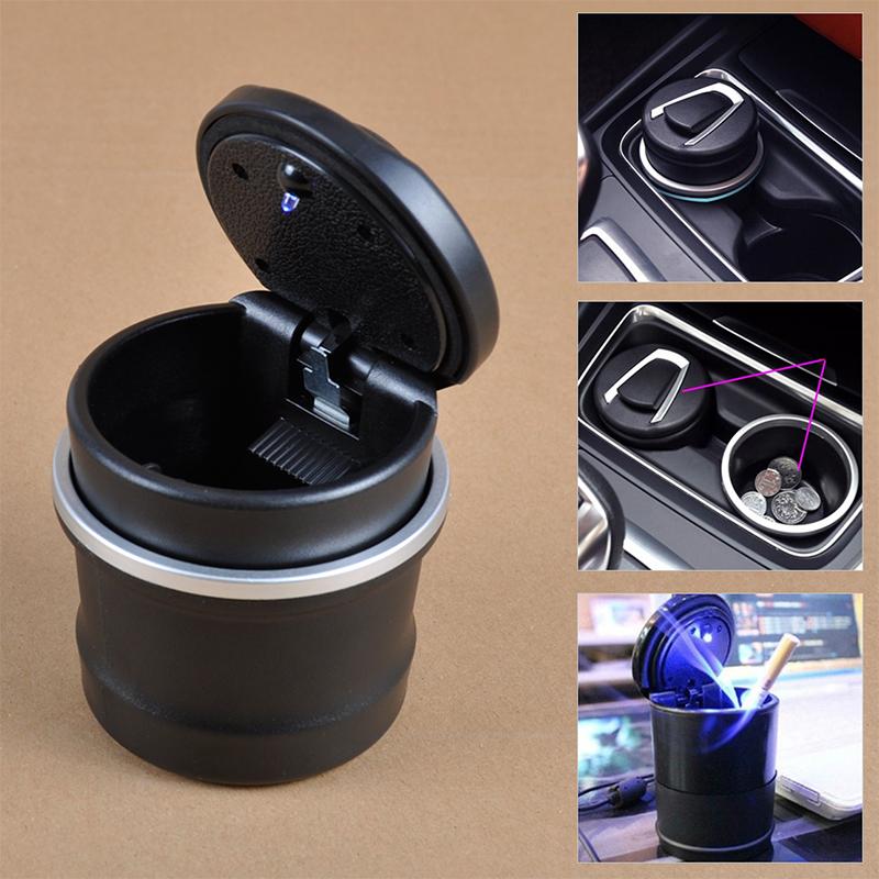 Херметичен LED пепелник BMW ASHTRAY в 2 части - за всеки модел BMW