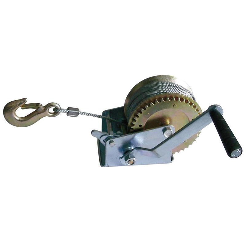 СПАСЕНИЕТО: мощна ръчна лебедка 1400lbs - 635 кг.