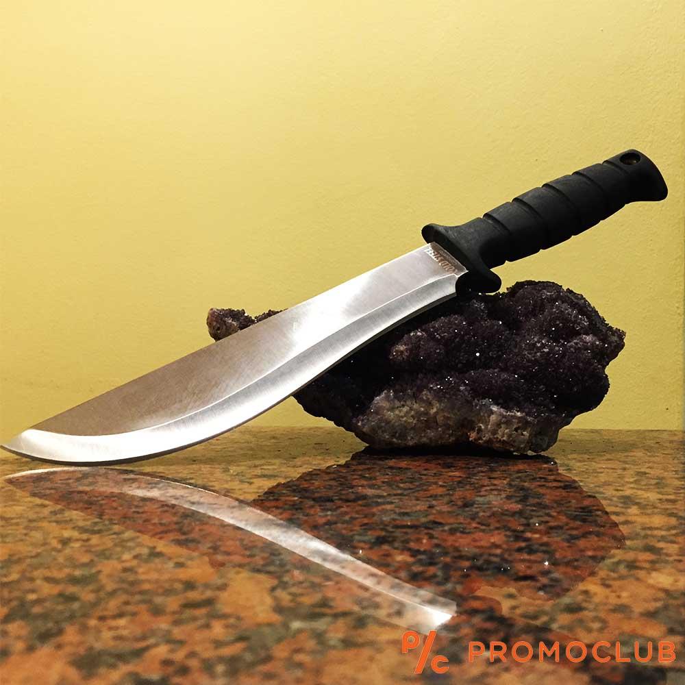 Cold Steel CONQUEROR LTC KUKRI масивен ловен нож с кания и вулканизирана дръжка