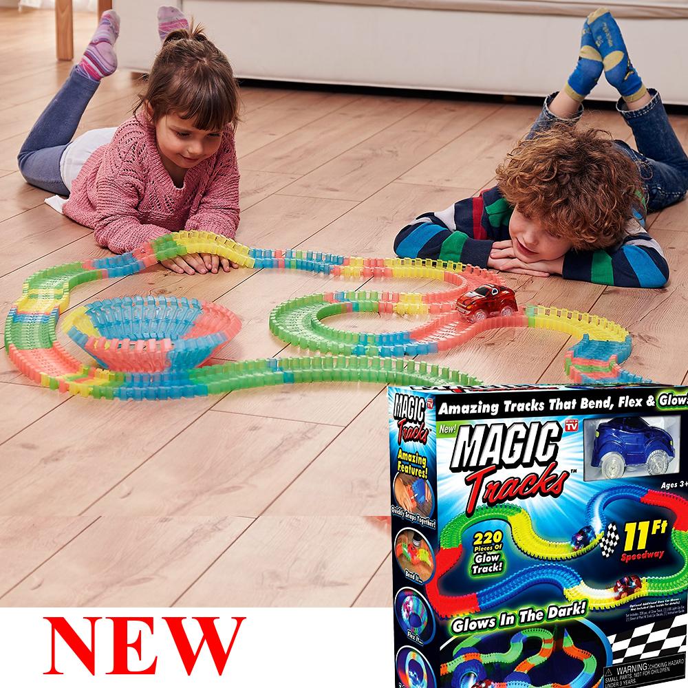 New Magical Tracks писта с колички, сега и с виадукт в комплекта