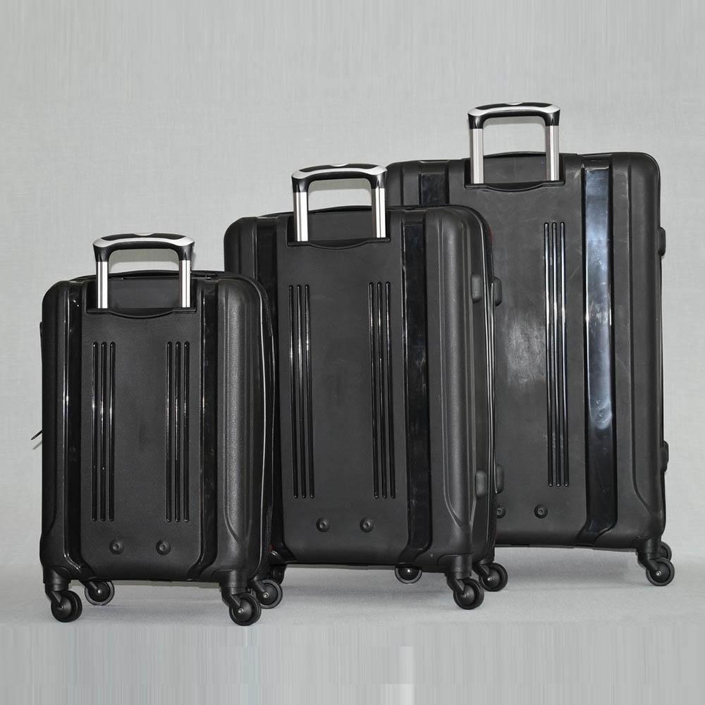 3 броя спинър куфари URBAN BUSINESS GRAY 31185, полипропилен висок клас
