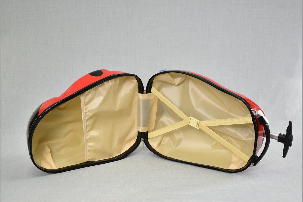 Детски куфар на колела BLACK PINGUIN 31799, изтегляща се дръжка за теглене, поликарбон
