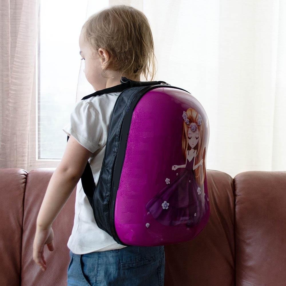РАЗПРОДАЖБА: поликарбонова детска ТОП раница PRINCESS, 3-8 г, 31890