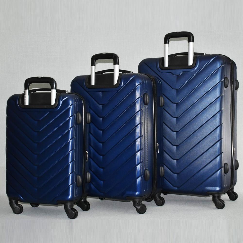 ТОП комплект ABS куфари 8072 TRAVELLER BLUE