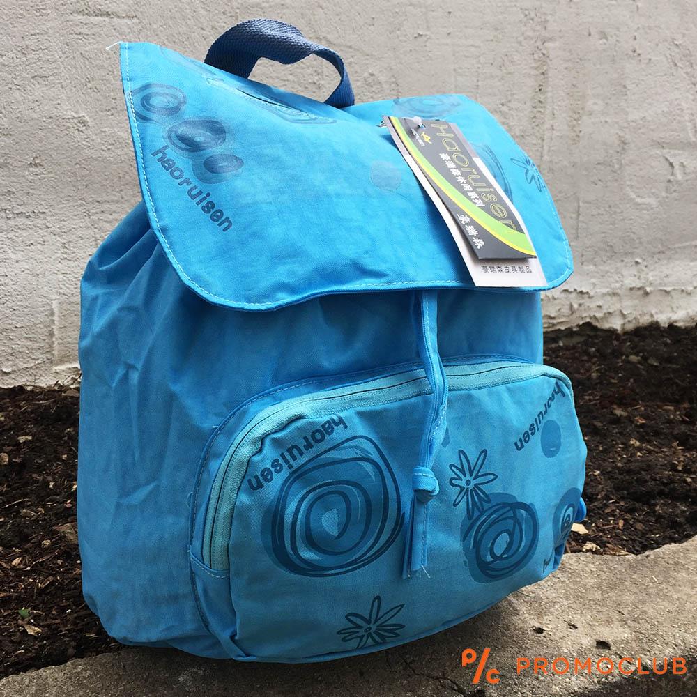 ЛИКВИДАЦИЯ: раница HAORIUSEN 8803 BLUE ECO, 32 см