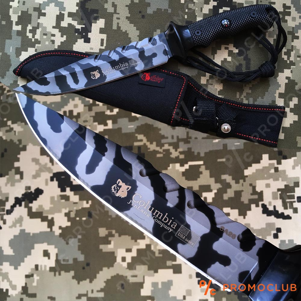 Военен- ловен нож COLUMBIA SA26 WAR TIGER с кания