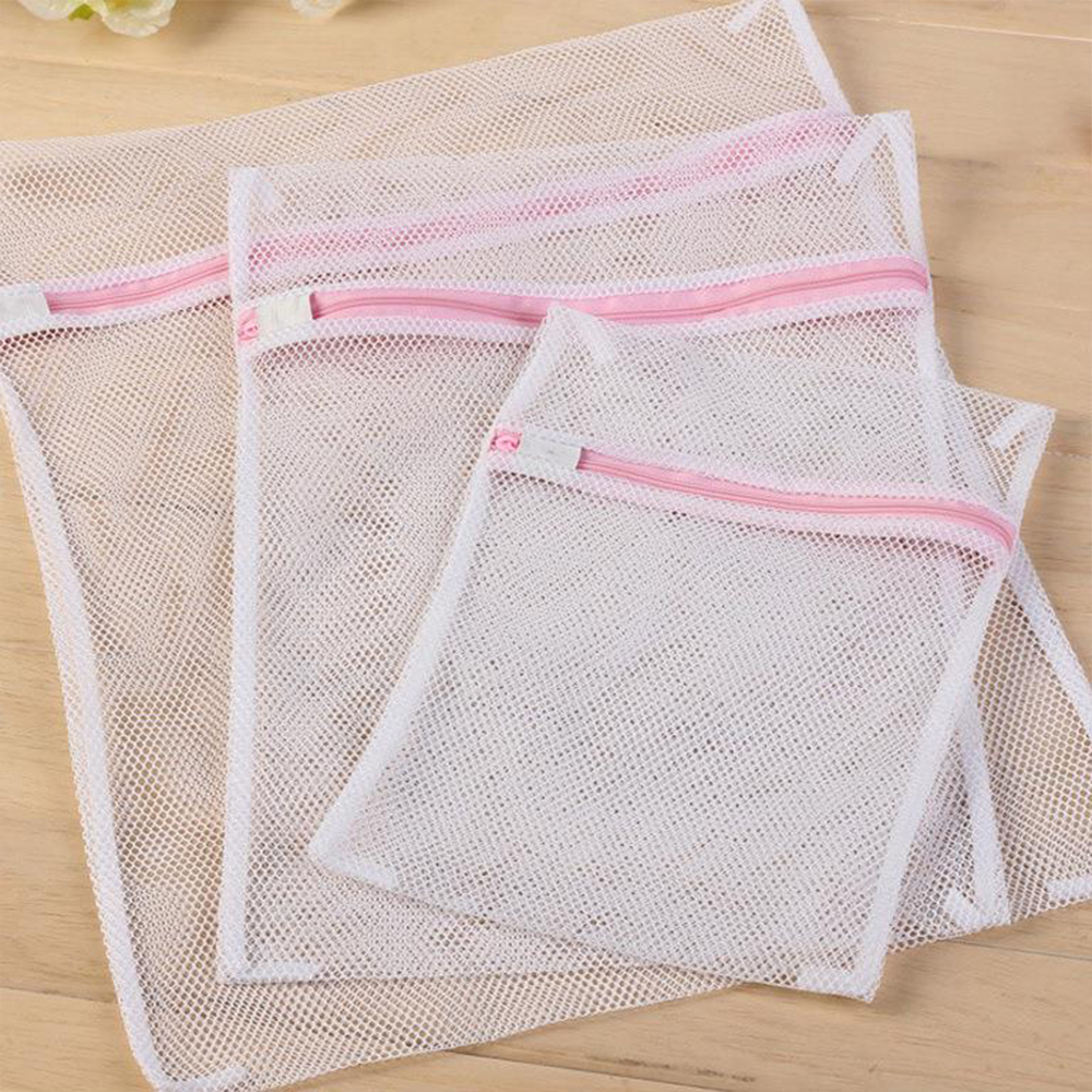 Мрежести пликове / торбички с цип за пране 30 х 40 см, 1 брой