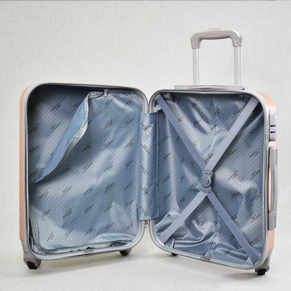 ТОП ЦЕНА:  ABS спинър за ръчен багаж PL107 SILVER, 55x40x22, пластмаса