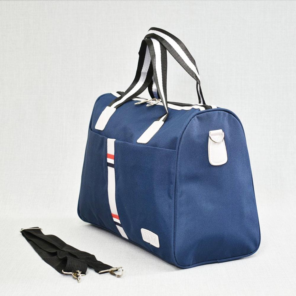 Куфарен авио сак TOMMY H 12006 BLUE SPORT за ръчен багаж,  20 х 30 х 40 см