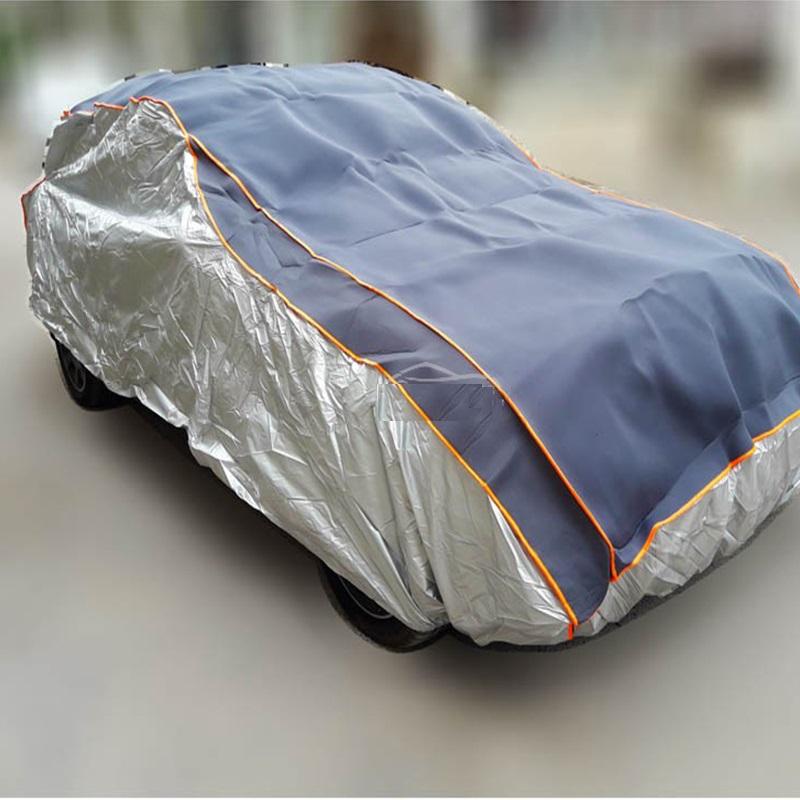 Висококачествено авто покривало против градушка, размер L 483х183х122 см.