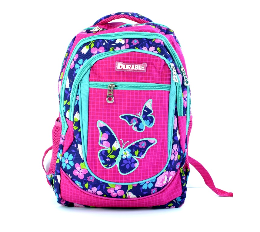Голяма раница DURABLE BIG  2400 PINK BUTTERFLY