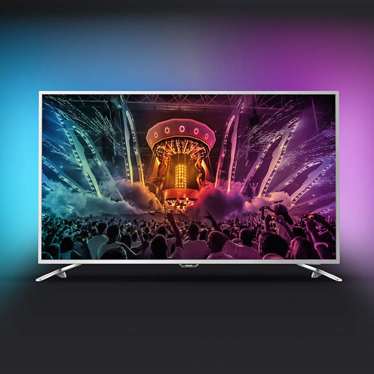 Ултра тънък 4К ANDROID SMART LED телевизор PHILIPS 49PUS6561 49 инча/ 123 см ULTRA HD