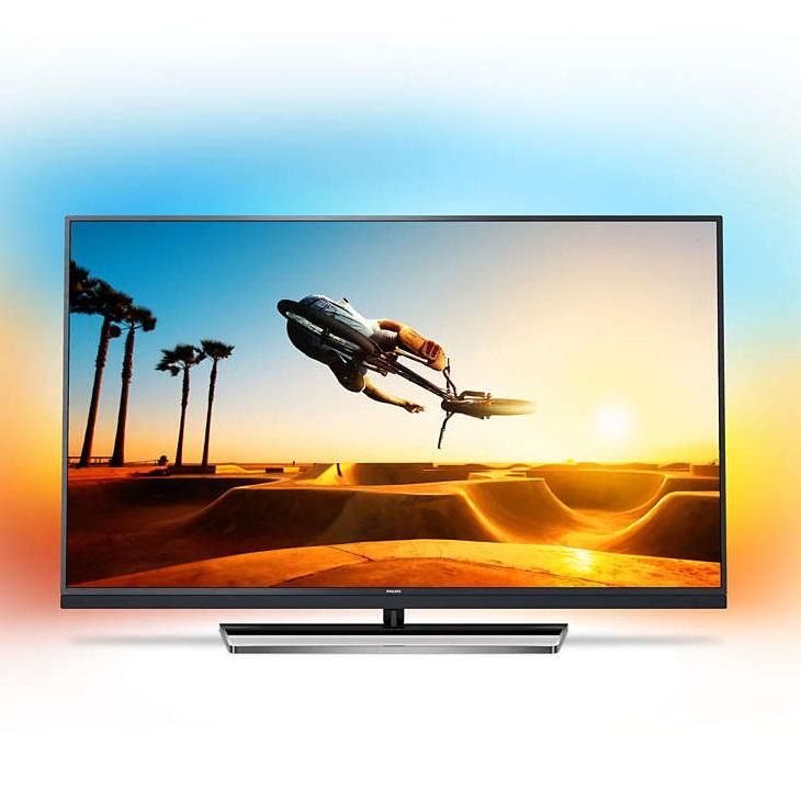Ултра тънък 4К ANDROID SMART LED телевизор PHILIPS 49PUS7502 49 инча/ 123 см ULTRA HD