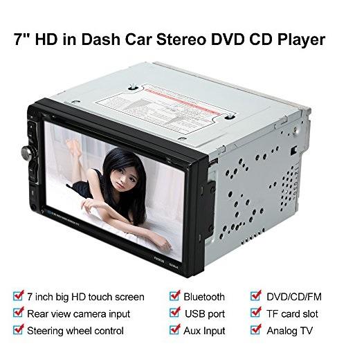 Двоен DIN супер мултимедия за колата KSD-6522- DVD, MP3 SUPER POWER 4х65W