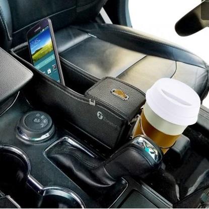Дизайнерски авто органайзер за телефони, монети и др. предмети SEAT SIDE ARM REST