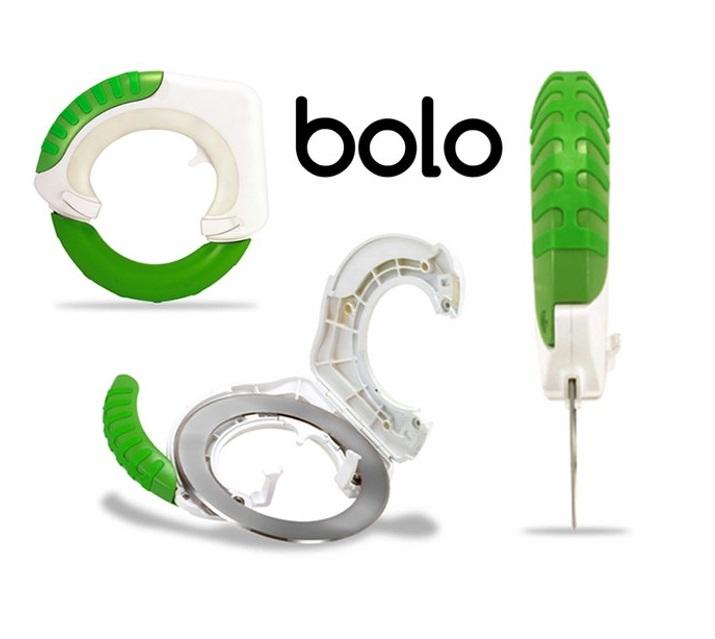 Иновативен въртящ се BOLO нож пази ръката от умора и травми - бърз и прецизен