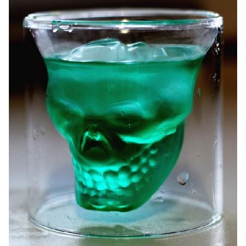 Стъклена чаша череп (doomed)