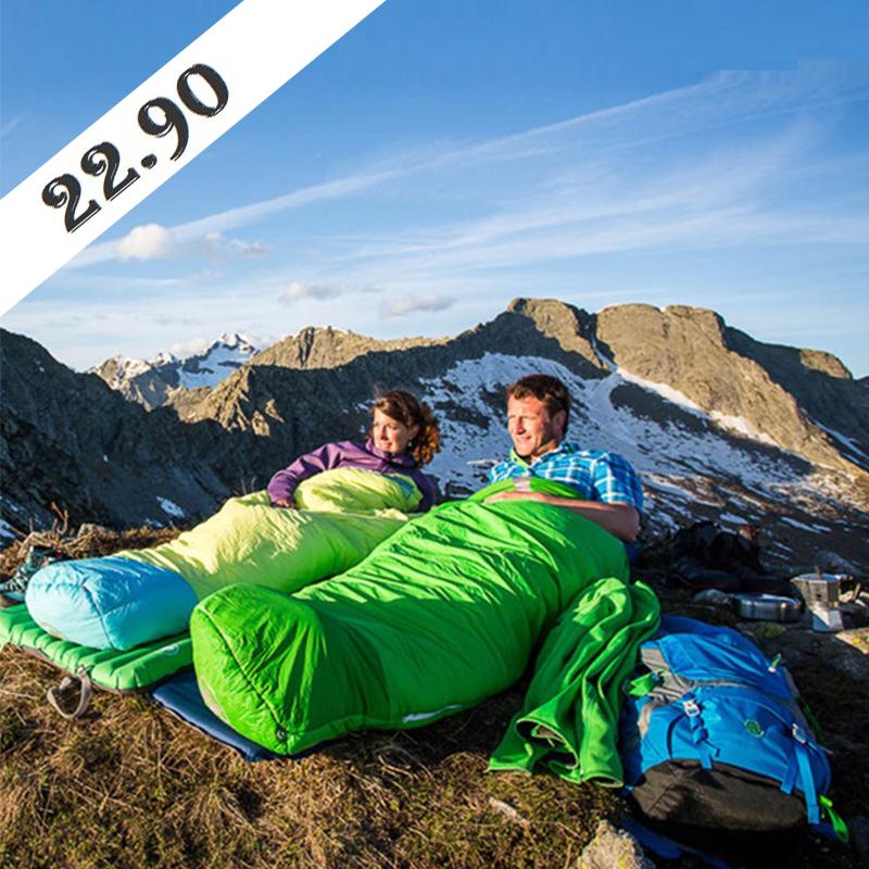 ТОП ЦЕНА: висококачествен спален чувал SLEEPING LAZY BAG