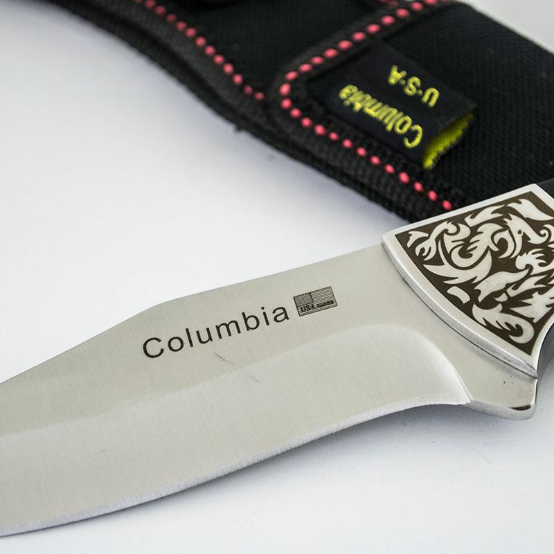 Класически ловен нож COLUMBIA DRAGONS K81  среден размер, с кания