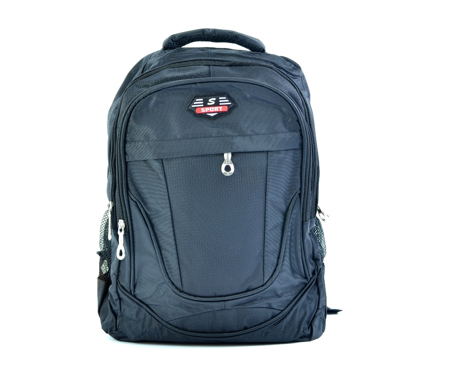 Класическа ученическа раница 914 BLACK. Спортна раница
