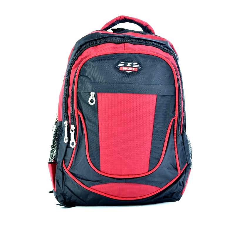 Класическа раница за спорт и училище 914 RED