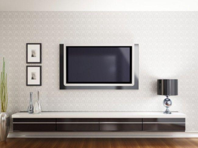 Тънка стенна стойка за малки и средни телевизори с размер 17-37 инча