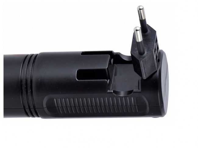 Универсален двоен фенер с вградени батерии и мрежово зареждане 220V YJ227