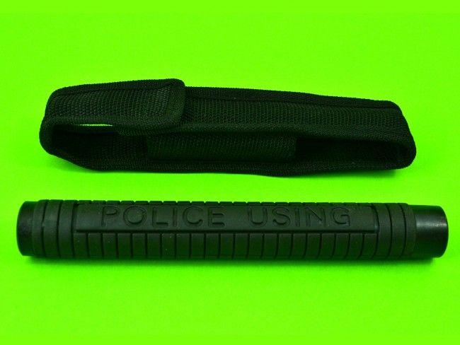 Средство за самозащита телескопична палка POLICE с текстилен калъф