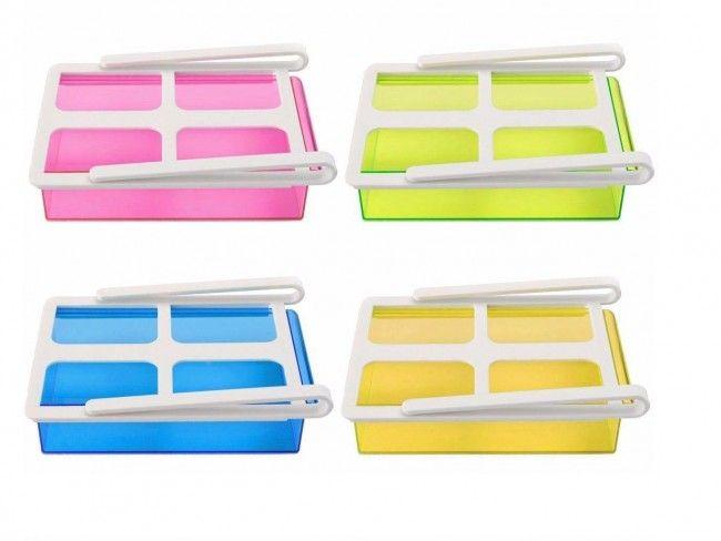 Уникална Shelving купа пести място в хладилника - произволен цвят