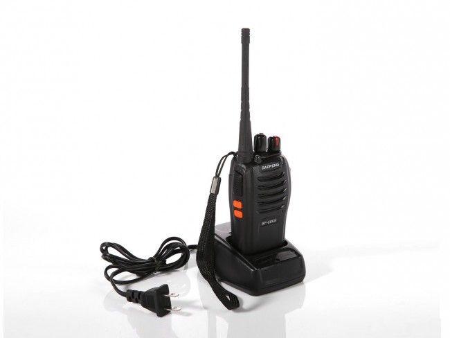 Нов модел мощна радиостанция BF-666S DSP, 16 канала, 5W, хендсфри