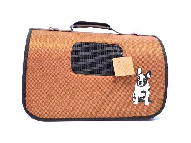 Луксозна пътна чанта 3472 BROWN за домашен любимец
