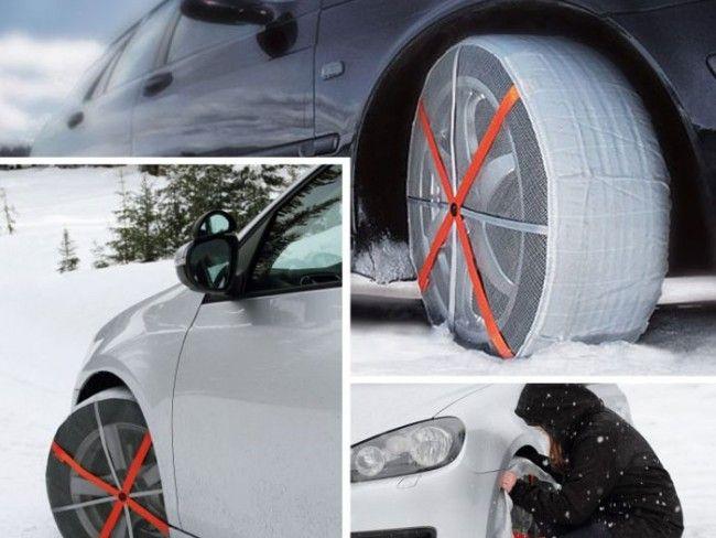 2бр. текстилни вериги за лед и сняг - леки, комфортни, поставят се лесно и не заемат място