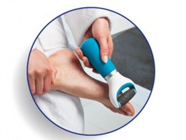 ТОП модел електрическа пила SCHOLL VELVET PINK за нежни и поддържани стъпала