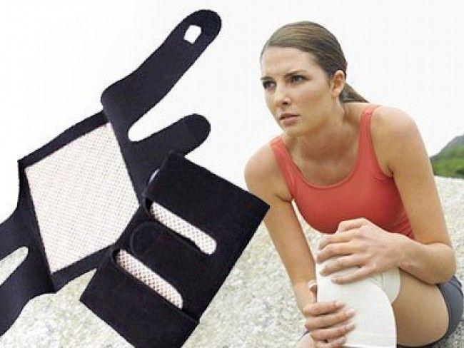Най-солидните турмалинови наколенки за лечение,затопляне и подсилване на колене 2 броя