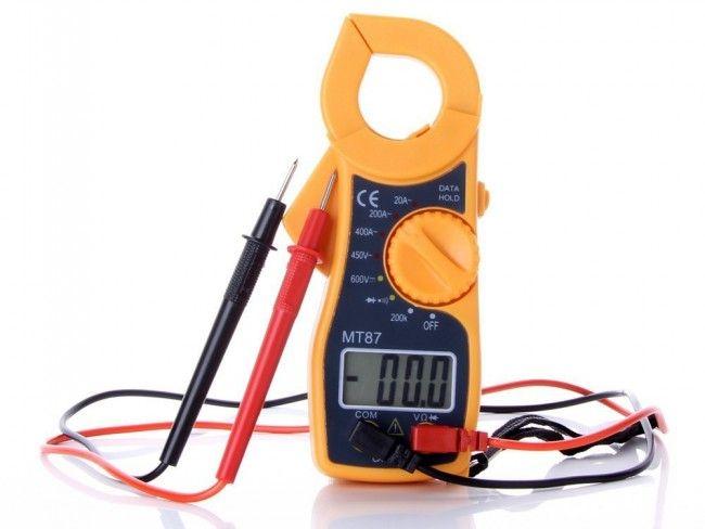 Електронен измервателен уред - цифрови ампер клещи MT87
