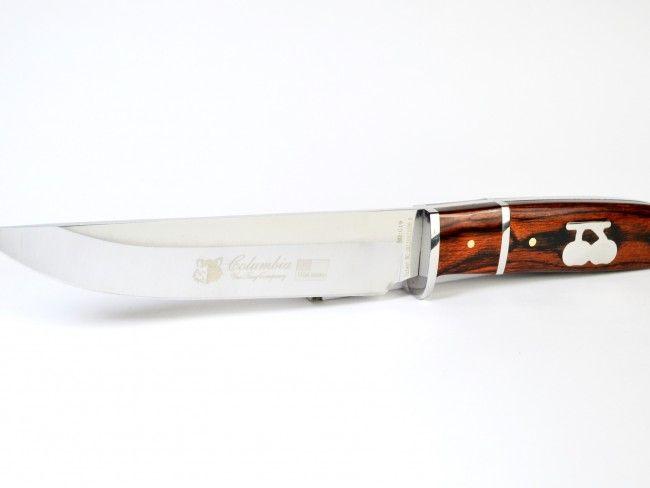 Ювелирна изработка ловджийски нож COLUMBIA G19 CHERRY
