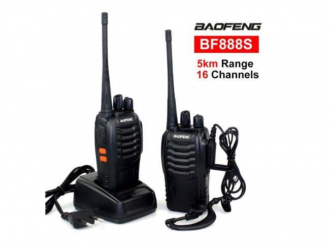 Мощна радиостанция BF-888S - 1 брой