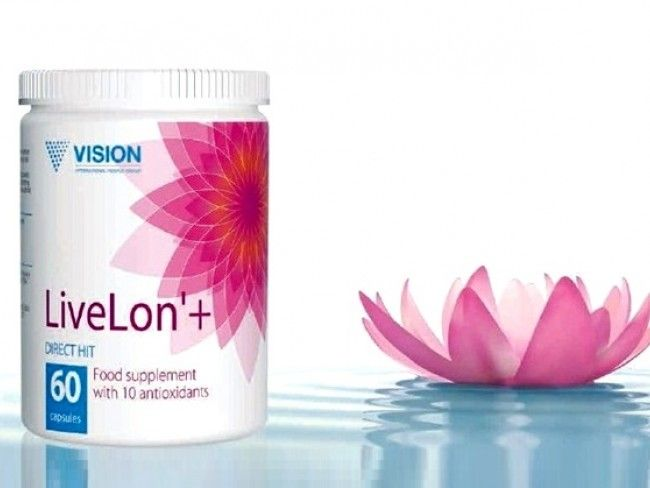ТОП ПРОДУКТ: Vision LiveLon' , Вижън ЛивЛон' 60 капсули