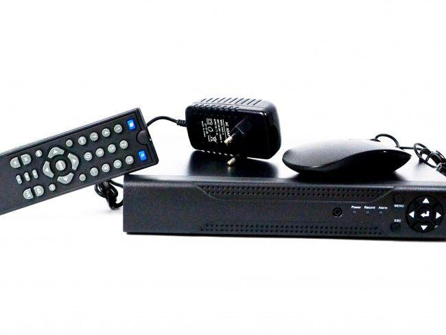 Система за видеонаблюдение и запис на 8 камери-8 КАНАЛЕН 7004 С HDMI и връзка към интернет