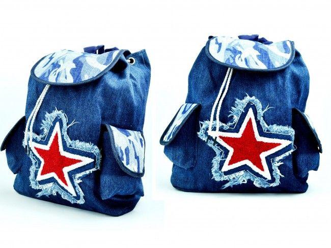 Атрактивна чанта-раница STAR 11873-4