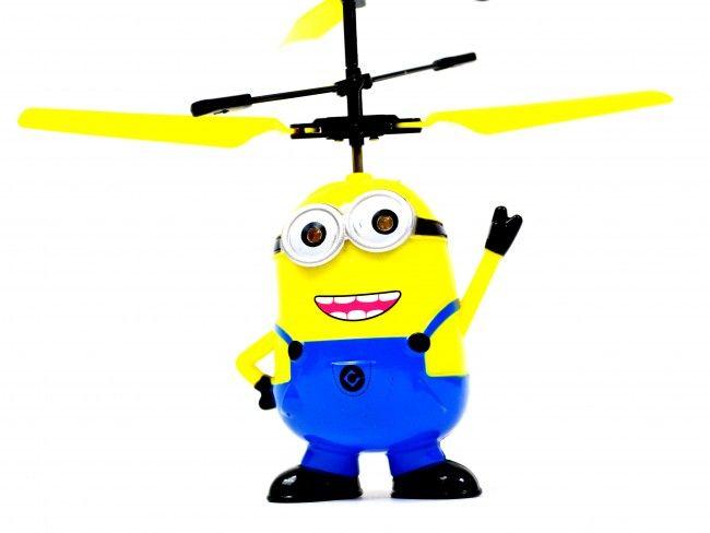 Невероятен летящ Миньон с вградена батерия, мощни перки и елементарно управление