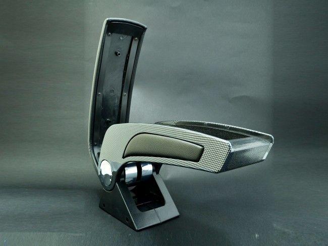 Супер лукс универсален автоподлакътник-барче CARBON тип