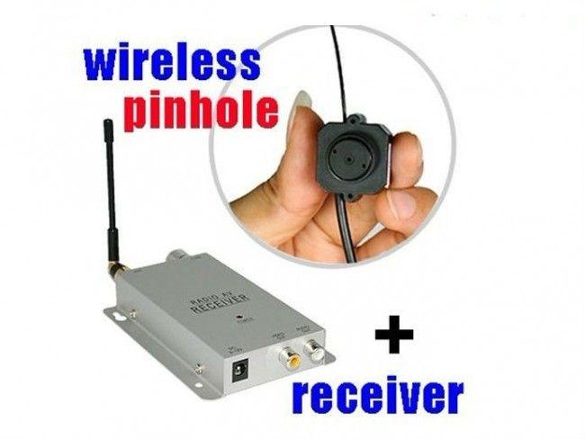 Миниатюрна шпионска безжична камера 203C за охрана и видео наблюдение със звук